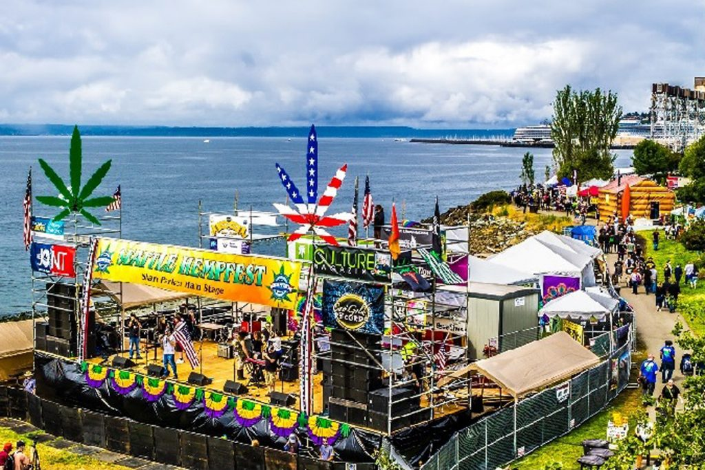 Photo courtesy of Seattle Hempfest