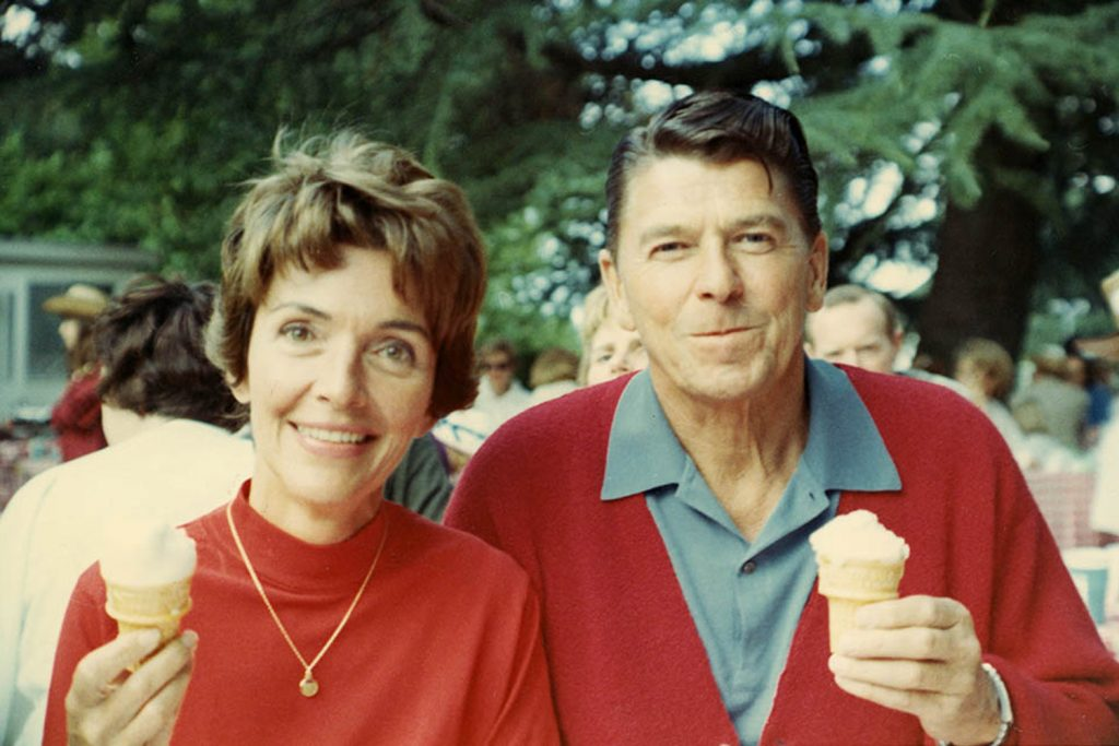 Photo courtesy of Ronald Reagan Presidential Library and Museum