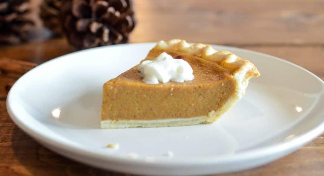 Clear Pumpkin Pie