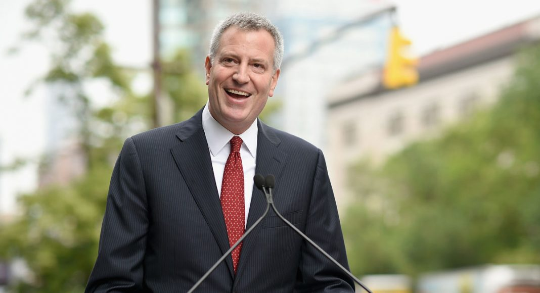 NY Mayor De Blasio Promises To Stop Arresting People For Marijuana