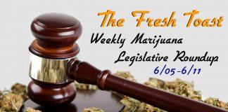 The Fresh Toast Marijuana Legislative Roundup: June 11